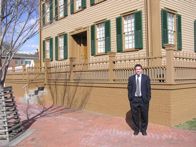 abraham lincoln's home from 1844-1861.  located in springfield, illinois